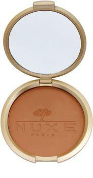 Nuxe Éclat Prodigieux компактна пудра-бронзатор для обличчя та тіла