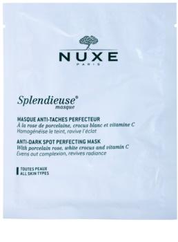 Nuxe Splendieuse máscara anti-manchas de pigmentação