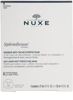 Nuxe Splendieuse maska proti pigmentnim madežem