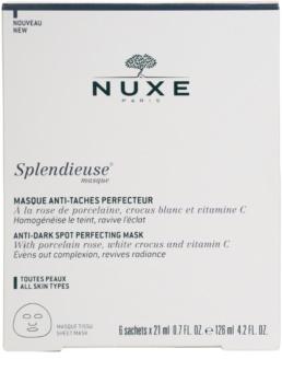 Nuxe Splendieuse Maske gegen Pigmentflecken