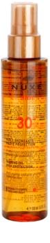 Nuxe Sun ulei pentru plaja SPF30