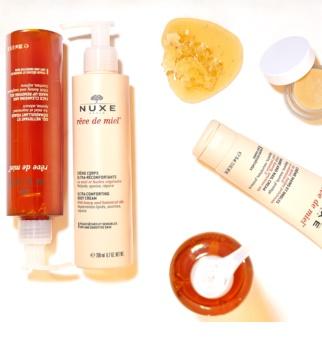 Nuxe Rêve de Miel gel nettoyant pour peaux sensibles et sèches