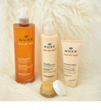 Nuxe Rêve de Miel почистващ гел  за суха кожа