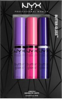NYX Professional Makeup Butter Gloss kosmetická sada I.