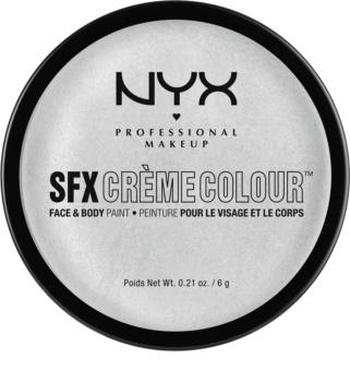 NYX Professional Makeup SFX Creme Colour™ fond de teint visage et corps