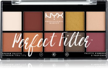 NYX Professional Makeup Perfect Filter Shadow Palette Eyeshadow Palette