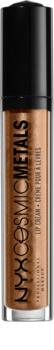 NYX Professional Makeup Cosmic Metals™ metalický tekutý rúž
