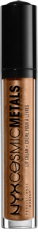 NYX Professional Makeup Cosmic Metals™ metaliczna szminka w płynie