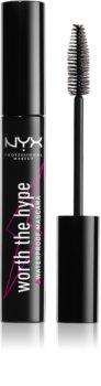 NYX Professional Makeup Worth The Hype wodoodporny tusz do rzęs