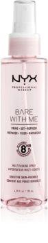 NYX Professional Makeup Bare With Me Prime-Set-Refresh Multitasking Spray Lichte Multifunctionele Spray