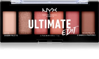 NYX Professional Makeup Ultimate Edit Petite Shadow Eyeshadow Palette