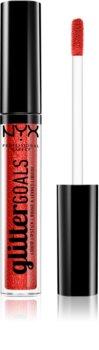 NYX Professional Makeup Glitter Goals tekutá rtěnka