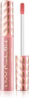 NYX Professional Makeup Candy Slick Glowy Lip Color brilho para lábios com alta pigmentação