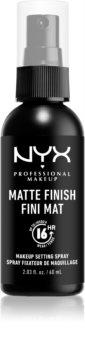 NYX Professional Makeup Makeup Setting Spray Matte pršilo za fiksiranje