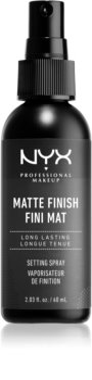 NYX Professional Makeup Makeup Setting Spray Matte σταθεροποιητικό σπρέι