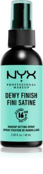 NYX Professional Makeup Dewy Finish fixáló spray