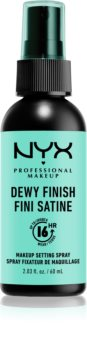NYX Professional Makeup Dewy Finish spray fixador