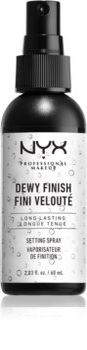NYX Professional Makeup Dewy Finish spray fixateur