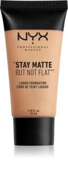 NYX Professional Makeup Stay Matte But Not Flat tekutý make-up s matným finišem