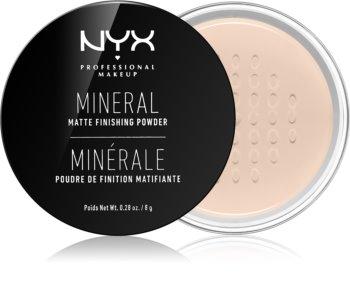 NYX Professional Makeup Mineral Finishing Powder pó mineral