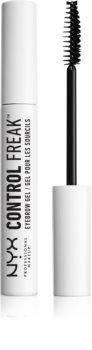 NYX Professional Makeup Control Freak gel za obrvi in trepalnice za popoln videz