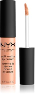 NYX Professional Makeup Soft Matte batom líquido leve e mate
