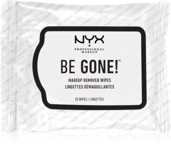 NYX Professional Makeup Be Gone! robčki za odstranjevanje ličil
