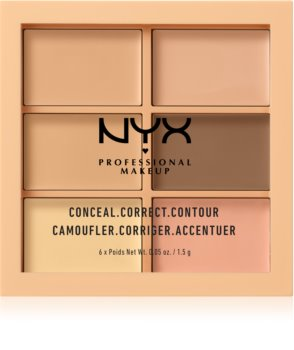 NYX Professional Makeup Conceal. Correct. Contour Concealing and Contouring Palette