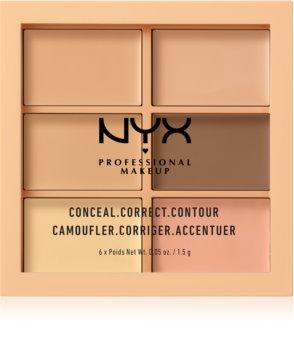 NYX Professional Makeup Conceal. Correct. Contour