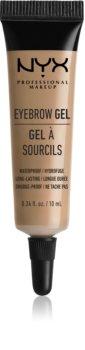 NYX Professional Makeup Eyebrow Gel gel sourcils waterproof