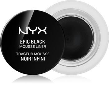 NYX Professional Makeup Epic Black Mousse Liner vodoodporno črtalo za oči