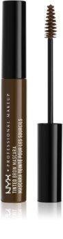 NYX Professional Makeup Tinted Brow Mascara Mascara for Eyebrows