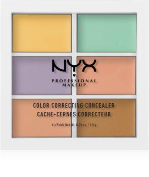 NYX Professional Makeup Color Correcting palette correcteurs