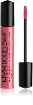 NYX Professional Makeup Liquid Suede™ Cream wodoodporna szminka w płynie z matowym finiszem