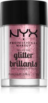 NYX Professional Makeup Glitter Goals bleščice za obraz in telo