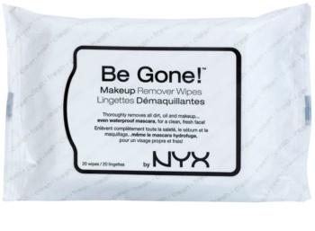 NYX Professional Makeup Be Gone! odličovací ubrousky