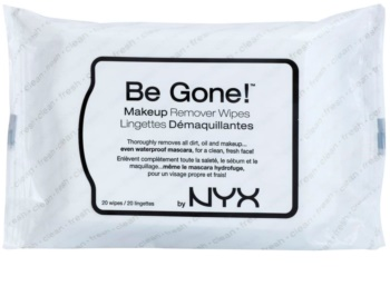 NYX Professional Makeup Be Gone! odličovacie obrúsky