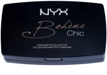 NYX Professional Makeup Bohème Chic paleta pentru fata multifunctionala