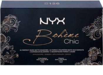 NYX Professional Makeup Bohème Chic večnamenska paleta
