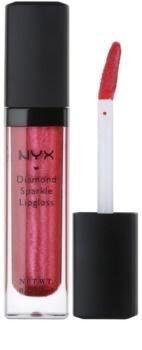 NYX Professional Makeup Diamond Sparkle lesk na rty