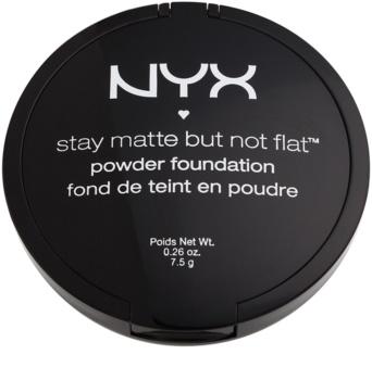 NYX Professional Makeup HD Studio kompaktný púdrový make-up pre matný vzhľad