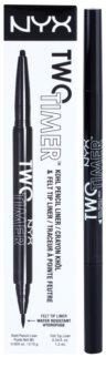 NYX Professional Makeup Two Timer szemceruza 2 az 1-ben