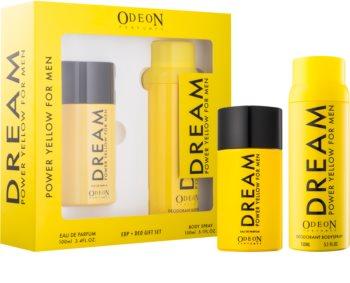 Odeon Dream Power Yellow darčeková sada I. pre mužov