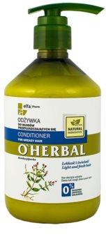 O'Herbal Mentha Piperita kondicionáló zsíros hajra