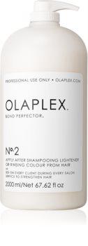 Olaplex Professional Bond Perfector obnovitvena nega, ki zmanjšuje poškodovanje las med barvanjem z dozirno črpalko