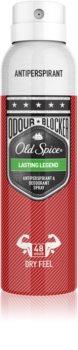 Old Spice Odour Blocker Lasting Legend Antiperspirant Spray