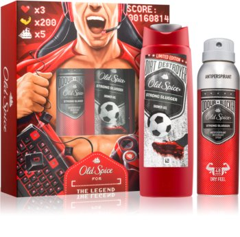 Old Spice Odour Blocker Strong Slugger σετ δώρου I.