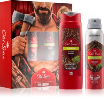 Old Spice Timber coffret I.