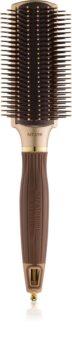 Olivia Garden Ceramic + Ion NT-PDL plochá kefa na vlasy