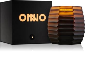 Onno Manyara Brown bougie parfumée 11,5 x 13 cm
